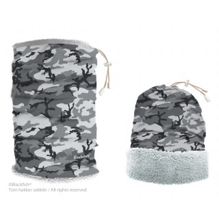 Reversible Headwear With Plush Camouflage Series B3.CA.02