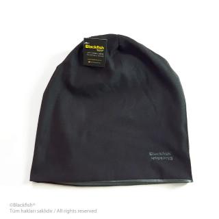 Reversible Beanie - Black-Grey B2.BE.04