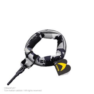Chunky Floating Keychain Wristband Camouflage Series B8.KM.02