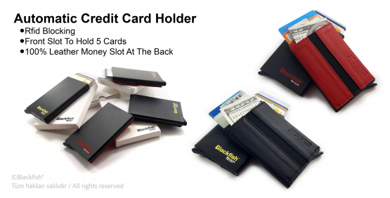 Automatic Credit Card Holder