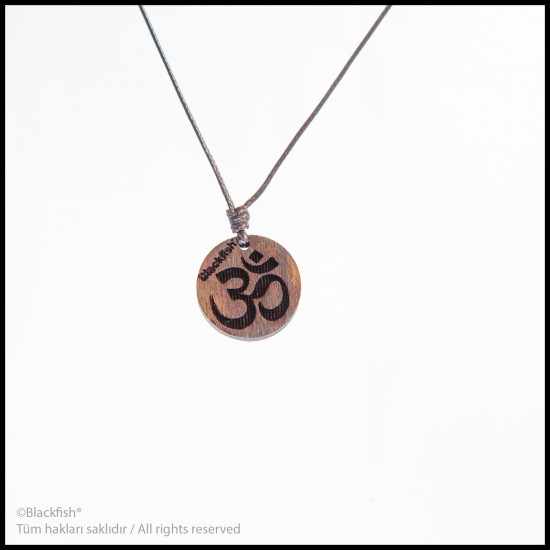 Walnut Tree Inlaid Necklace Life Series B10.YM.01