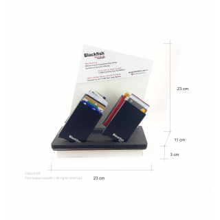 Automatic Credit Card Holder Product Stand Display