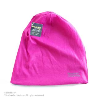 Reversible Beanie - Pink-Grey B2.BE.03
